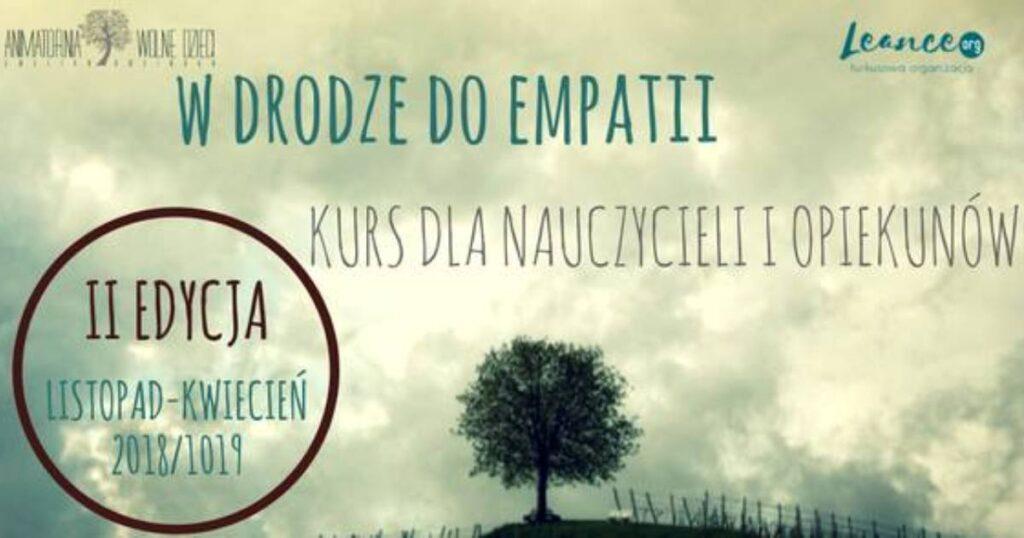 W Drodze Do Empatii - Półroczny Kurs Dla Nauczycieli I Opiekunek Leance