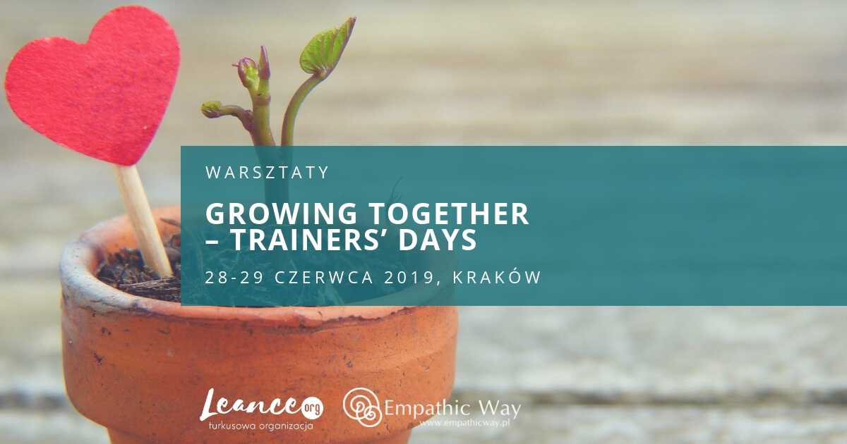 Growing together – trainers' days NVC Leance Shona Cameron