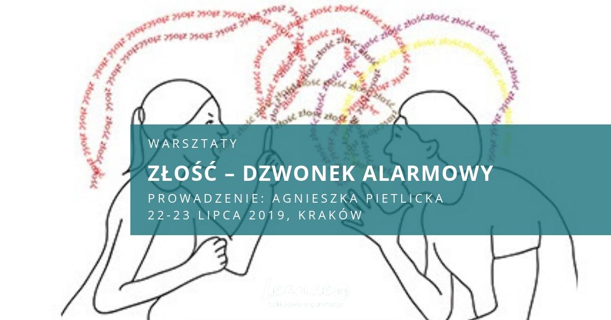 Złość - dzwonek alarmowy Agnieszka Pietlicka