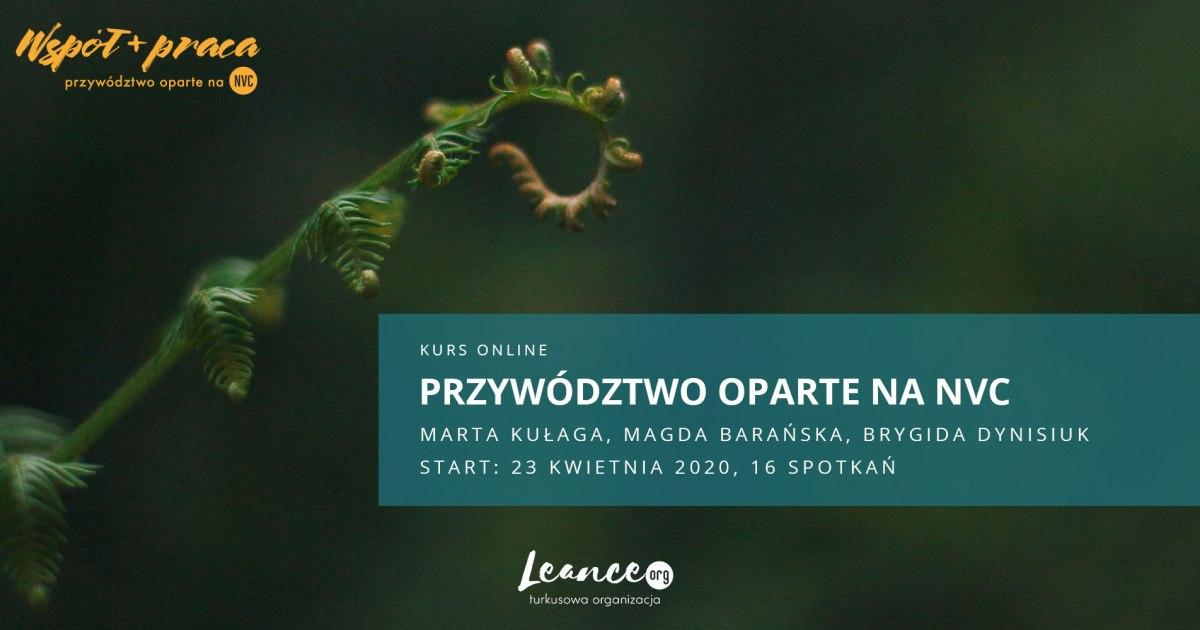 WSPÓŁ+PRACA Przywództwo oparte na NVC Leance
