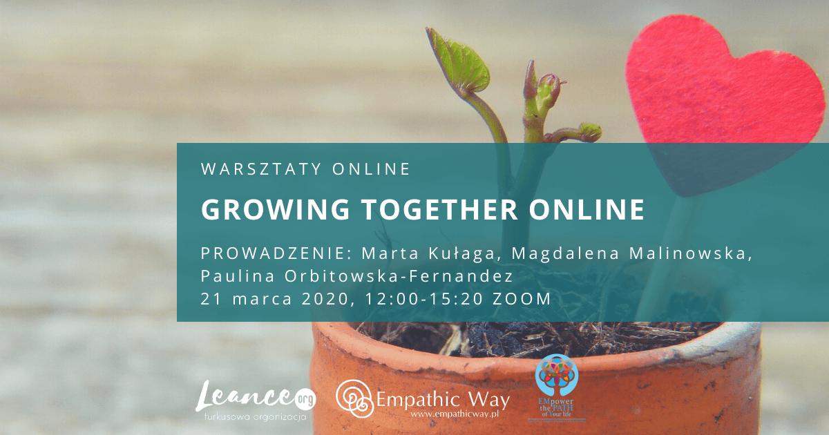 Growing Together Online