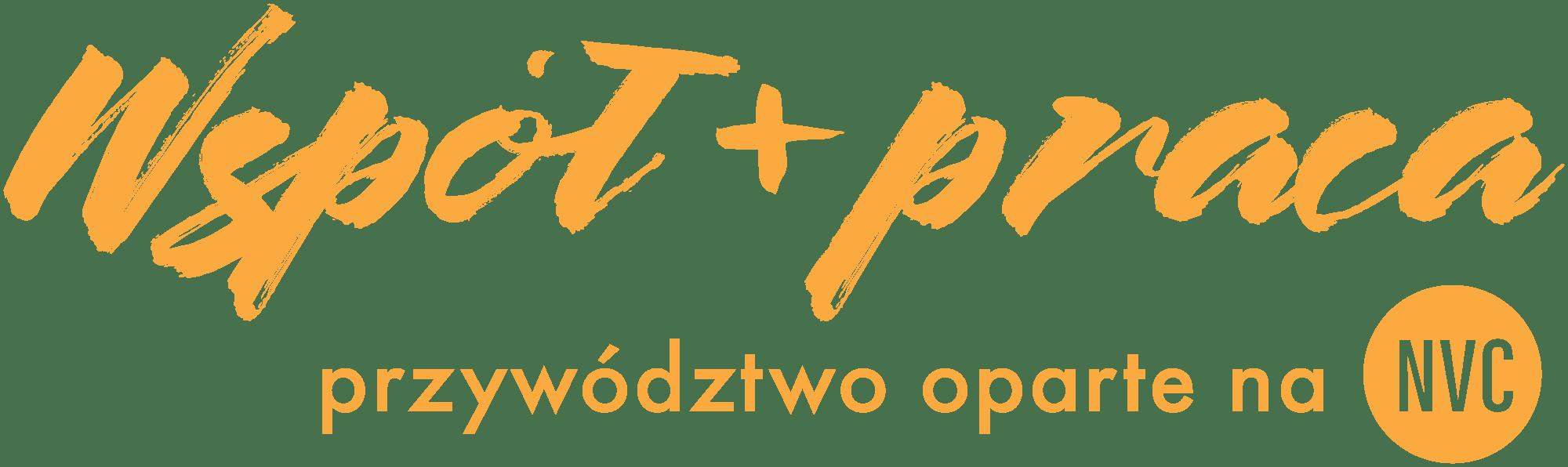 WSPÓŁ+PRACA Przywództwo oparte na NVC Logo Leance