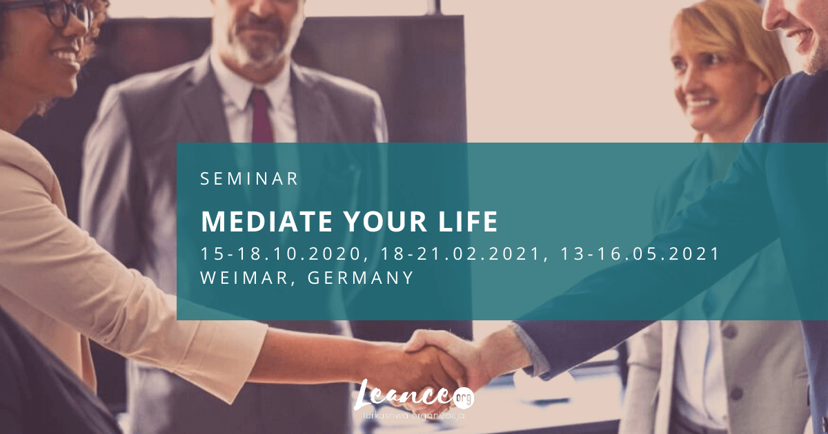 Seminar Mediate your Life Leance